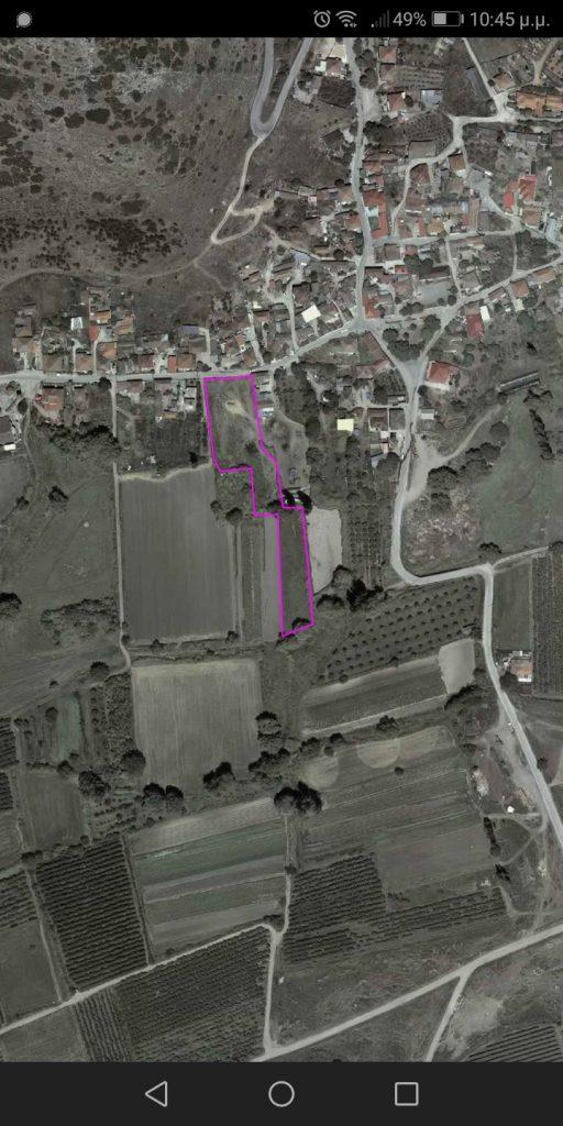 Οικόπεδο Αετόλοφος Λάρισας προς πώληση 5.000 τ.μ. | 20.000 €